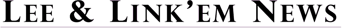 Lee & Link'Em News